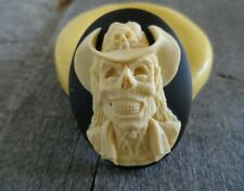 Gothic Zombie Cowboy Cameo  Silicone push mold polymer clay resin SUGAR CRAFT