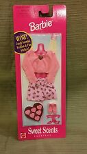 Barbie Sweet Scents Fashions #68644 Pink Outfit w/Candy Scent & Fun Stickers NEW