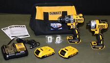 "DeWalt DCD791 1/2"" Cordless Drill & DCF887 1/4"" Cordless Impact Driver Set!"