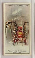 Quick Hitch Harness Fire Fighting Appliances 1930 John Player & Sons Card (B9)