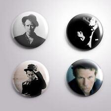 4 TOM WAITS - Pinbacks Badge Button 25mm 1''