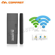 COMFAST USB 3.0 1200Mbps Wireless WiFi Adapter AC Dual Band 2.4G/5GHz Gigabit
