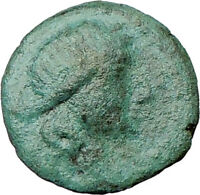 Thessalonica  Macedonia 158BC Rare Ancient Greek Coin Artemis Bow  i22006