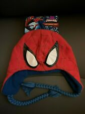 Marvel Ultimate Spider-man Laplander Hat Halloween Costume for Ages 8 and up