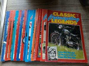 Classic Motorcycling Legends Magazine- Various different issues available