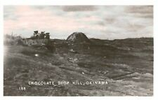 RPPC,Chocolate Drop Hill,Okinawa,Japan,World War II Battle,c.1945