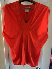 *ASOS** ORANGE TUNIC TOP SIZE 4