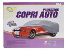 Housse de voiture polyester imperméable L cm 525x260x135 h pour voiture grigio