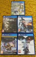 Playstation 4 Spielepaket-ps4-FIFA, Killzone, Battlefield, Schicksal, Fallout