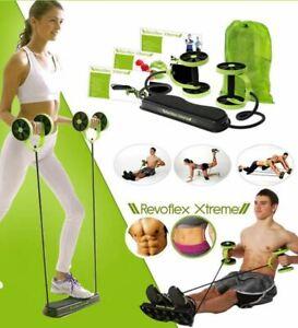 Revoflex Xtreme Abdominal Trainer Resistance Workout Machine Home Gym Exercise