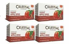 Celestial Seasonings Cinnamon Apple Spice Tea 4 Box Pack
