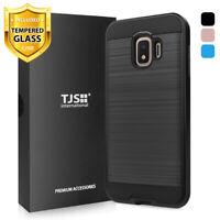 For Samsung Galaxy J2 Shine/Pure/Dash/Core Phone Case TJS Legency+Tempered Glass