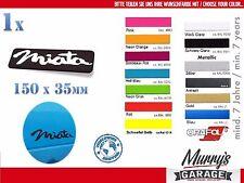 Mazda Miata 35x150mm Aufkleber MX-5 NB NA NC ND Eunos Sticker, Autocollat, Decal