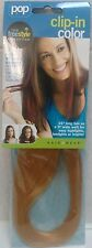 """HairUWear POP Clip In Color 16"""" Hair Extensions 4 Easy Highlights/Lowlights/GOLD"""