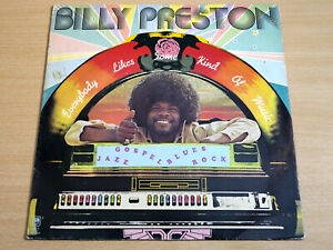 EX !! Billy Preston/Everybody Likes Some Kind Of Music/1973 A&M LP