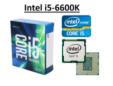 Intel Core i5-6600K SR2L4 ''Skylake'' 4 Core, LGA1151, Clock 3.5 - 3.9 GHz CPU