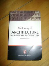 The Penguin Dictionary of Architecture & Landscape Architecture Reference 5th Ed