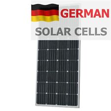 180W 12V solar panel with 5m cable for camper / caravan / boat 180 watt module