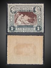 1897 DIAMOND JUBILEE AND HOSPITAL CHARITY 1 SH. NEVER HINGED SCT. B1 SG. 280