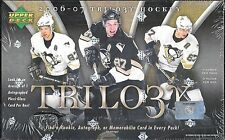 2006-07 Upper Deck Trilogy Factory Sealed Hockey Hobby Box  Evgeni Maklin RC ?