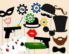 Print Yourself Casino Photo booth Props