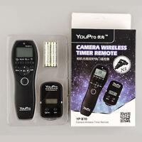 For Canon EOS 50D 40D 30D 20D 20Da 10D 7D 6D 5D Wireless Shutter Timer Remote US