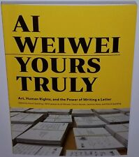 AI WEIWEI SIGNED ART BOOK CHINESE ART FINE MUSEUM CONCEPTUAL ASIAN YOURS Print