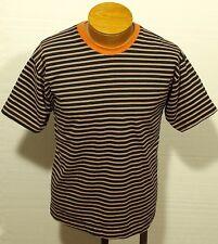 vintage '80s/90s STRIPED t-shirt surf surferskateboard grunge size SMALL/MEDIUM