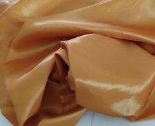 "Burnt  Orange Taffeta  59/60"" wide by the yard or roll. free swatches."
