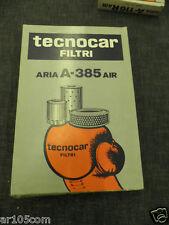 FILTRO ARIA TECNOCAR A385 PER ALFETTA 75 90 ALFA 6 2500