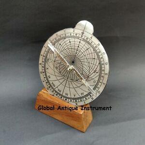 Antique Astrolabe Vintage Astronomical Instrument For Star Navigational Device