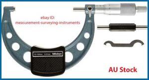 Genuine New Mitutoyo 103-140 Outside Micrometer 75-100mm | Australia Stock