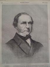 William gladstone ebay william ewart gladstone prime minister great britain 1866 harpers weekly sciox Choice Image