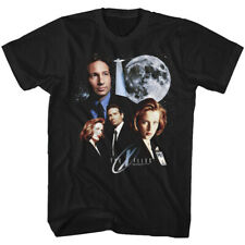 The X Files Science Fiction Tv Scully & Mulder Under The Moon Adult T Shirt