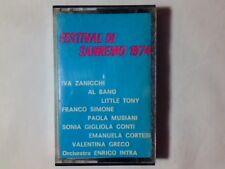 MC FESTIVAL DI SANREMO 1974 FRANCO SIMONE LITTLE TONY IVA ZANICCHI AL BANO