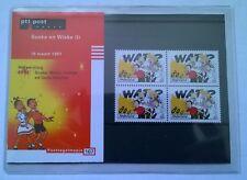 """Nederland PTT postzegelmapje 167 """"Suske en Wiske (I)"""" 1997"""