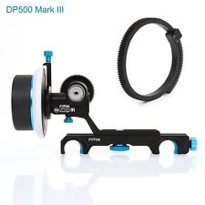 FOTGA DP500 Mark III 3 QR Dampen Follow Focus For 19mm Rod Rig A7S 5D BMCC