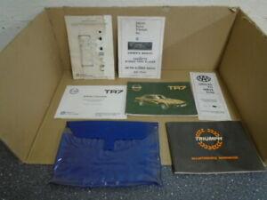 Triumph TR7 ** Handbook, maintenance, wiring **Booklet supplied with USA car