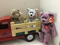 Lot Of Three Ty Beanie Babies, Ty 2k, 2000, 1999 (Truck Not Included)