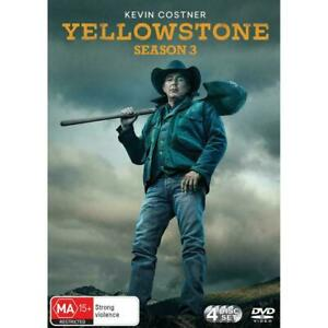YELLOWSTONE Season Three 3 DVD Region 4 BRAND NEW & SEALED!