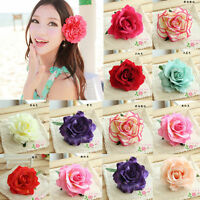 Nobby Bridal Rose Flower Hairpin Brooch Wedding Bridesmaid Party Accessories