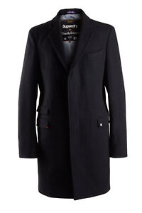 "Superdry Timothy Everest Town Coat Melton Size 4 UK XL 42"" (107cm) RRP £274.99"