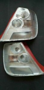 RARE HONDA CIVIC EP3 TYPE R JDM 2002 2005 ALL CLEAR TAILLIGHT LENSES