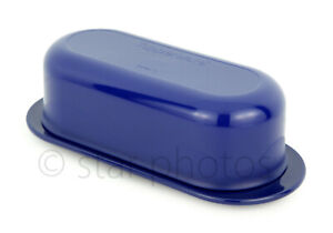 Tupperware Butter Dish Keeper for Stick of Butter in Tokyo Blue - NEW!