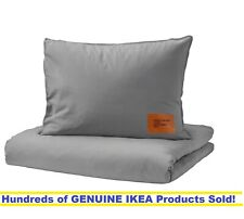 Ikea x Virgil Abloh MARKERAD Duvet cover and pillowcases GRAY Full/Queen SEALED!