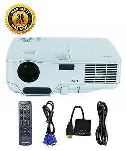 Refurbished NEC NP50 DLP Projector 2600 ANSI HD 1080i Portable HDMI-adapter