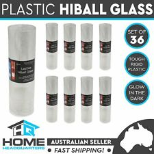 36x LED Light Plastic Drinking Glasses Beverage Cups Outdoor Party Night Bright
