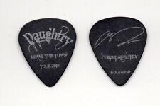 Chris Daughtry Daughtry Show Used Signature Guitar Pick