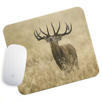 UK Seller Anti-Slip Gamimg Mouse Pad Mat PC Laptop Brown Stag Yellow Grass