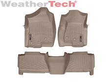 WeatherTech Car/Truck Floor Mat FloorLiner 450031-450612 - 1st & 2nd Row - Tan